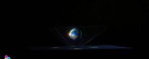 Wyświetlacz hologramów 3D do smartfona