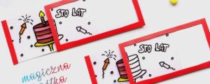 Magiczna kartka urodzinowa – zaskakujące DIY