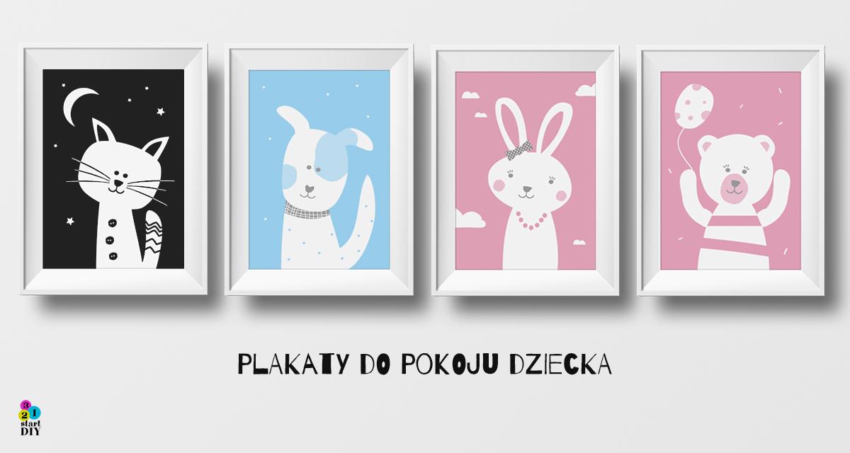 plakaty do pokoju dziecka