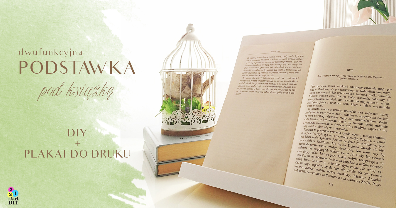 podstawka pod książkę