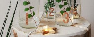 Świecznik adwentowy – przedświąteczna ozdoba DIY