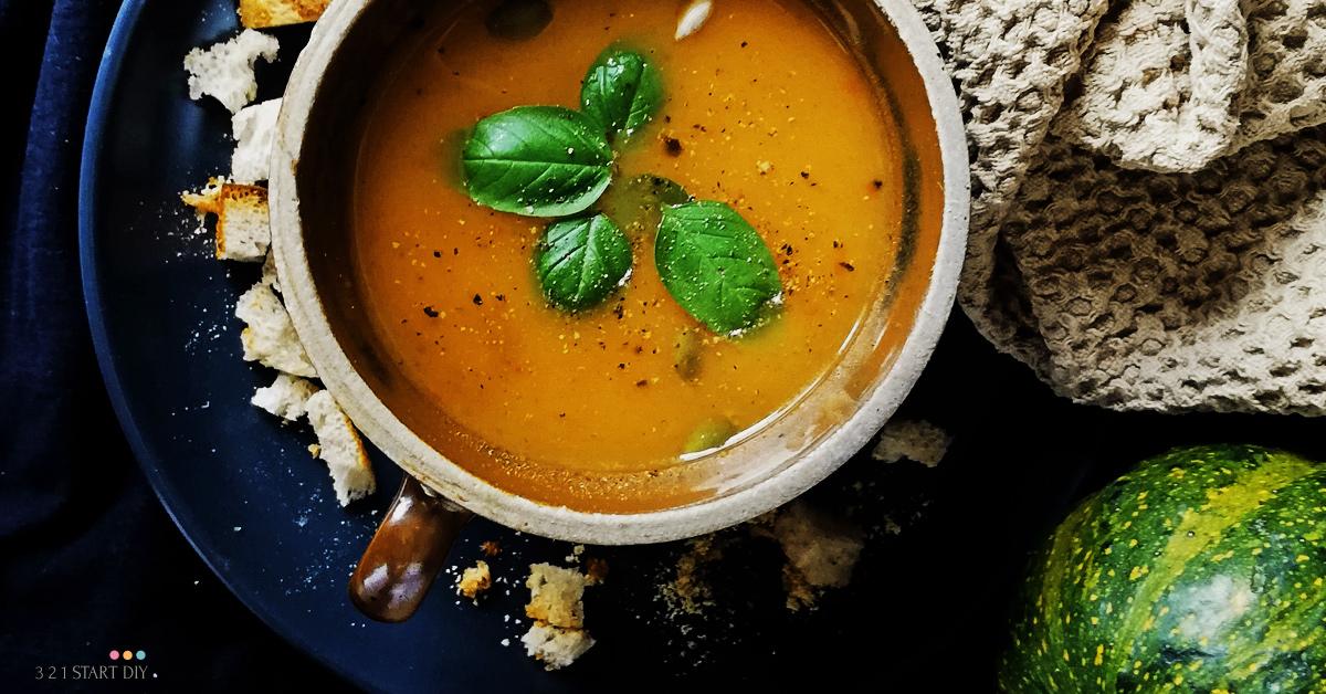 zupa z dyni i papryki prosty przepis