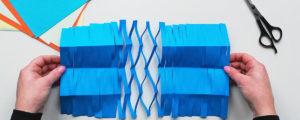 Łańcuchy z papieru – dekoracja i eksperyment dla dzieci