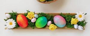 Wielkanoc w kolorze! Wielobarwne pisanki ombre