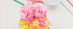 Proste kwiaty z bibuły – twórczy czas z dzieckiem