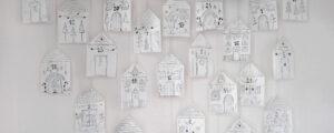 Kalendarz adwentowy diy – domki z papierowych torebek