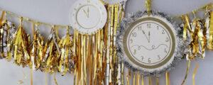 6 pomysłów na szybkie dekoracje sylwestrowe / karnawałowe