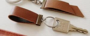 Skórzany brelok do kluczy dla mężczyzny – proste diy