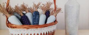 Marchewki z materiału – szyjemy wielkanocne dekoracje