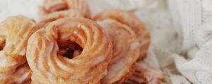 Pączki hiszpańskie / gniazdka z ciasta parzonego